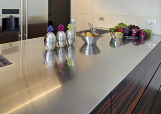 Paradise Valley, AZ Stainless Steel Kitchen Island